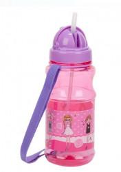 Bidon apa pentru copii cu mecanism pop-up și design fashion