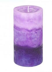 Coloana Lumânare parfumata Violet Liliac Lavandă - 6,8x12,5 cm