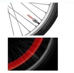 LED pentru roți de bicicletă roșu - 2 buc.
