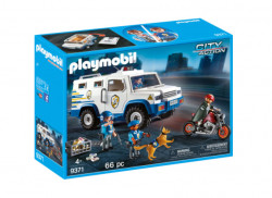 Playmobil City Action, Masina de politie blindata