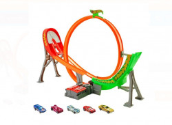 Set de joaca Hot Wheels - Power Shift Raceway