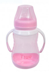 Sticla pentru bebelusi - roz 250 ml