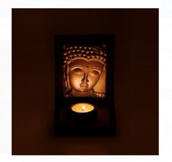Suport lumanare decorativ - Buddha - 10,5x11x14 cm