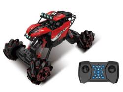 Vehicul cu telecomanda Rock Crawler Rosu cu sunet și lumini 2.4 MHz 1:16