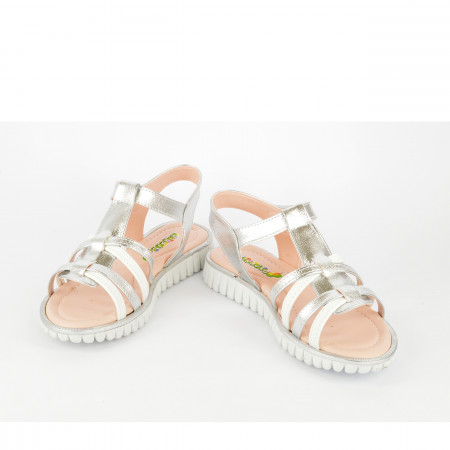 Dečije sandale 3758SB srebrne