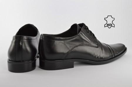 Kožne elegantne muške cipele 294 crne