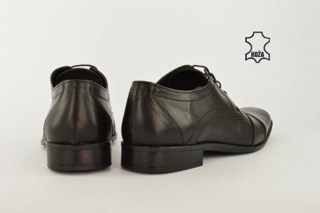 Kožne elegantne muške cipele 565 crne