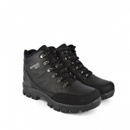 Muške duboke cipele 7526CR crne
