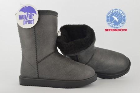 NEPROMOČIVE dečije čizme - Šunjalice CH86650-S sive