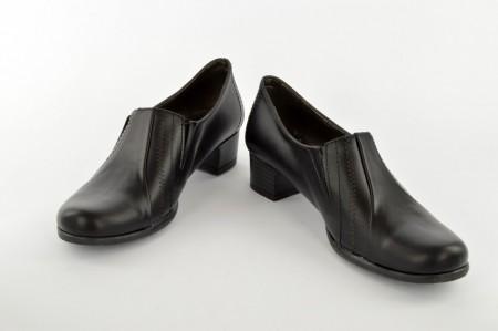 Ženske cipele na štiklu C254 crne