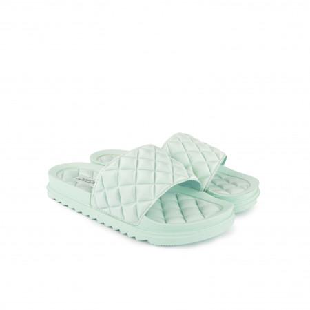 Ženske papuče LP055476ZL zelene