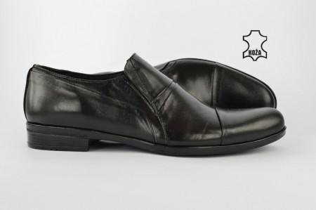 Kožne elegantne muške cipele 3531 crne