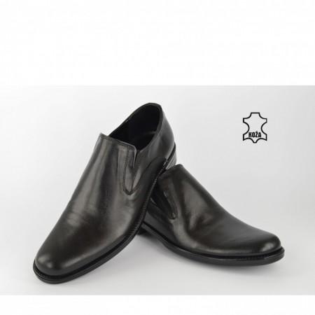 Kožne muške cipele 296CR crne