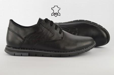 Kožne muške cipele 499 crne