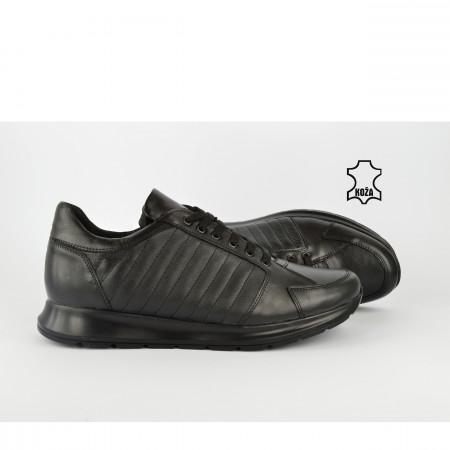 Kožne muške cipele 871CR crne