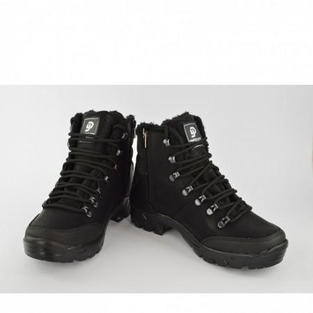 Muške duboke cipele 1117CR crne