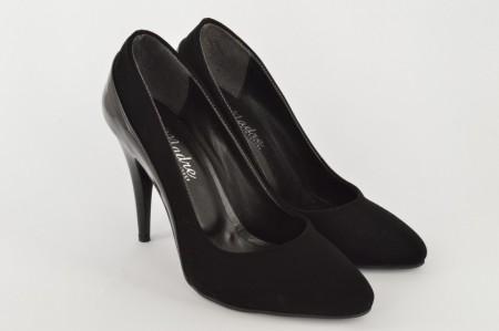 Ženske cipele na štiklu - Salonke 1521-C crne