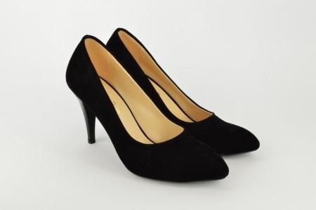 Ženske cipele na štiklu - Salonke 2002 crne