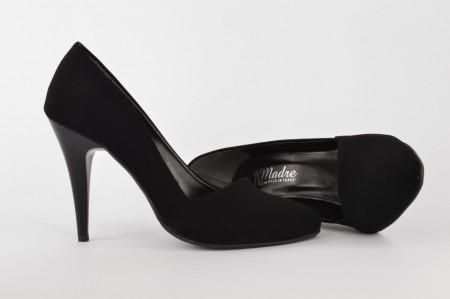 Ženske cipele na štiklu - Salonke 4085 crne