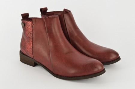 Ženske duboke cipele LH85604-CR bordo