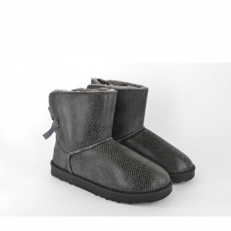 Ženske poluduboke čizme - Šunjalice LH75027SV sive