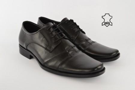 Kožne elegantne muške cipele 332 crne