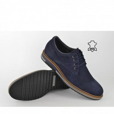 Kožne muške cipele 1946-3TT teget