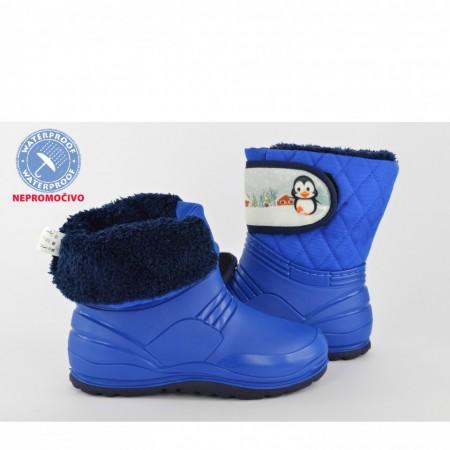NEPROMOČIVE gumene dečije čizme 00454-P plave