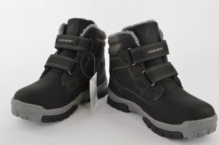 Postavljene dečije duboke cipele 097163 crne