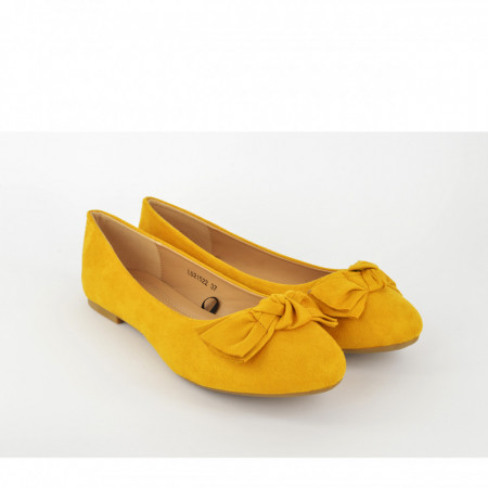 Ženske baletanke L021522YL žute