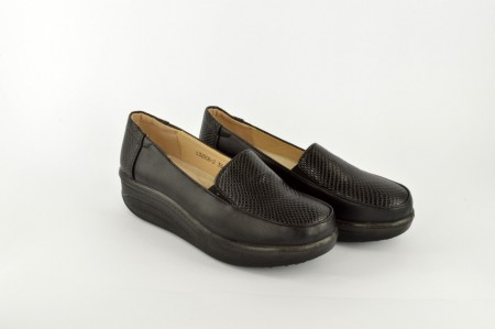 Ženske cipele na ortoped petu L32006-2 crne
