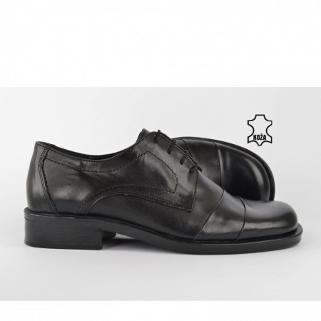 Kožne muške cipele 102CR crne
