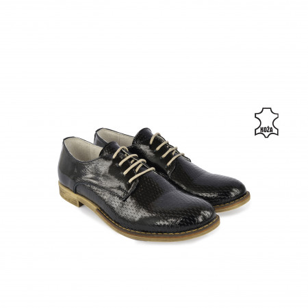 Kožne ženske cipele 911CR crne