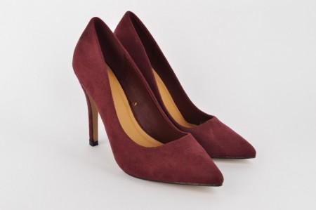 Ženske cipele na štiklu - Salonke L5042-1 bordo