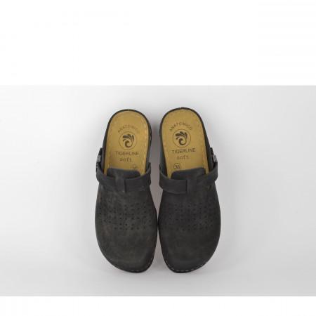 Ženske papuče - Klompe 154063CR crne