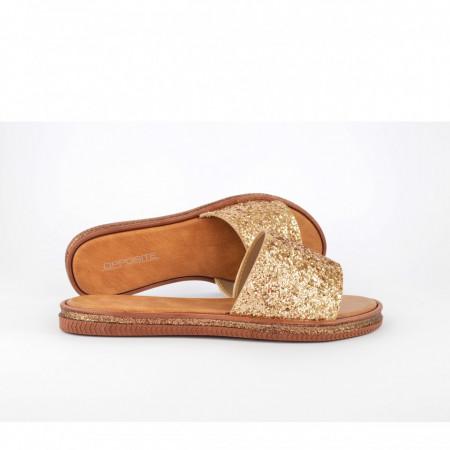 Ženske papuče LP021414ZT zlatne