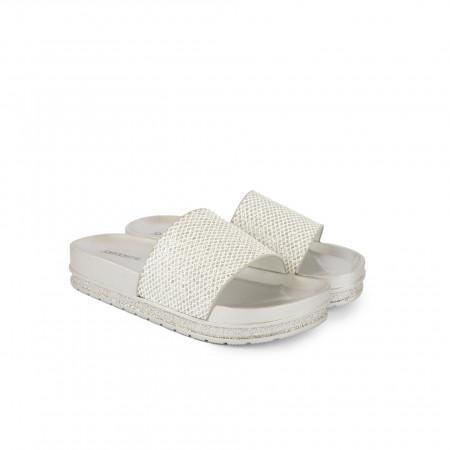 Ženske papuče LP055707SB srebrne