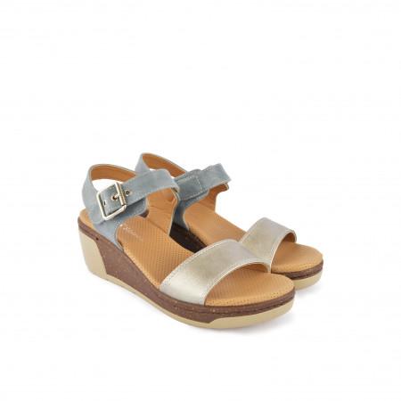Ženske sandale na platformu WS14012SV sive