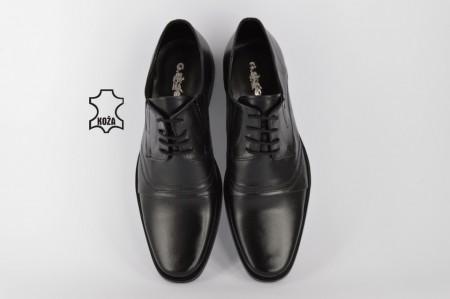 Kožne elegantne muške cipele 313 crne