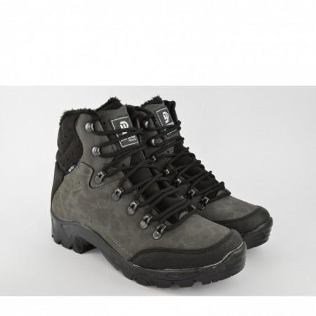 Muške duboke cipele 1117SV sive
