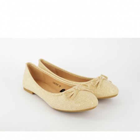 Ženske baletanke L021537ZT zlatne