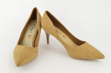 Ženske cipele na štiklu L24710-B bež