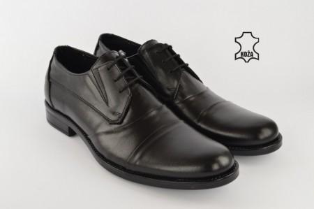 Kožne elegantne muške cipele 355 crne