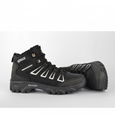 Postavljene dečije duboke cipele D051CR crne