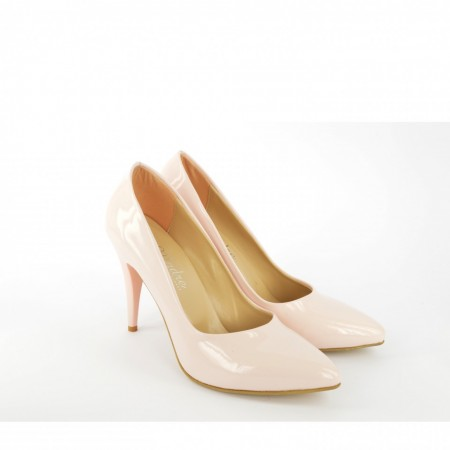 Ženske cipele na štiklu - Salonke 1510-R roze