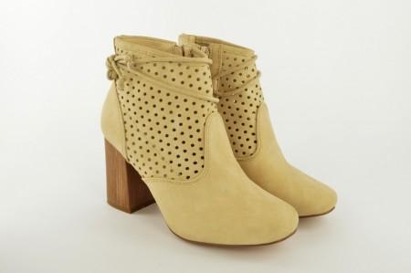 Ženske letnje čizme na štiklu LH80801 bež
