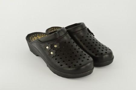 Ženske papuče - Klompe CV-C crne