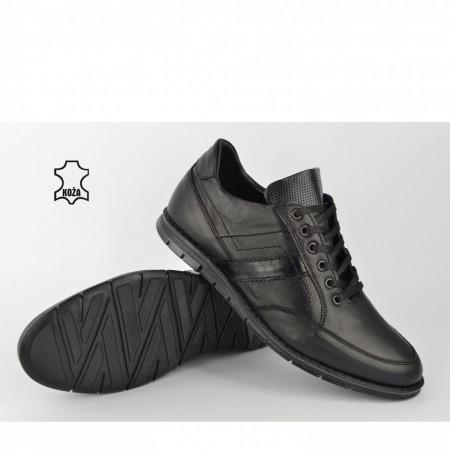 Kožne muške cipele 306CR crne