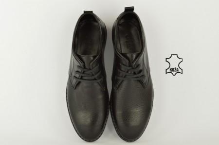 Kožne muške cipele 464 crne