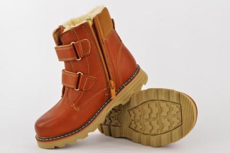 Postavljene dečije duboke cipele CH2245 braon